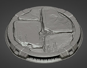 Pedestal for characters 04 - 05 3D print model