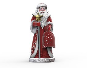 3D print model The statue of Santa Claus for the New Year