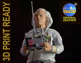 Doc Brown BTTF 1-8Scale 23cm Ready to Print emmett
