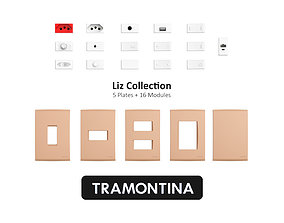 3D Tramontina Liz Collection Old Gold