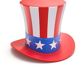 3D Uncle Sam Hat
