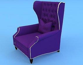 CHRISTOPHER GUY Armchair - 60-0305 3D