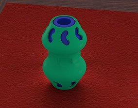 3D printable model fidget bean