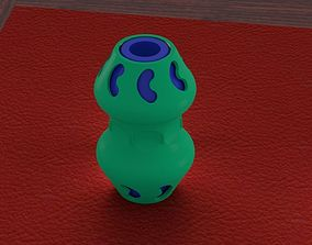 3D printable model fidget bean