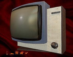 Soviet TV Vecher 3D model