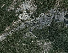 Chilnualna Fall Yosemite 3D