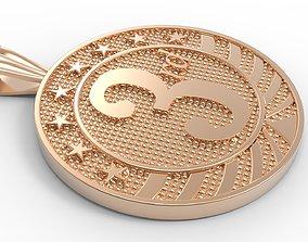 medallion 3rd 3D printable model