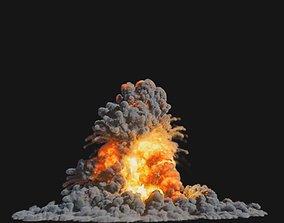 animated Houdini Explosion Asset Sand Advection 2