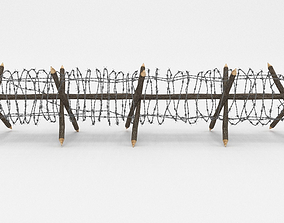 3D obstacle Barb Wire Obstacle