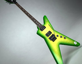 Dean Dimebag Darrell Guitar 3D