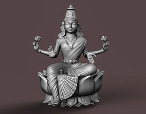 Indian Goddess Laxmi 3D printable model