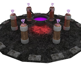3D model Magical Cauldron
