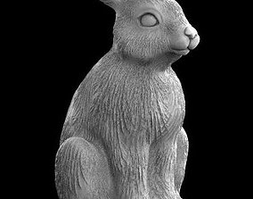 3D print model hare rabbit