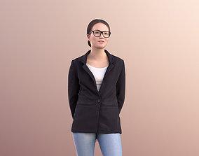 Laura 10705 - Business Woman Standing 3D asset