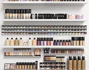 Big set of cosmetics 3D