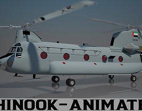 3D UAE Air Force Chinook CH - 47 F