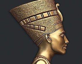 cleopatra 3D print model Nefertiti pendant