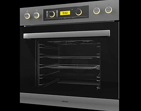 3D model Stainless Steel Oven Miele