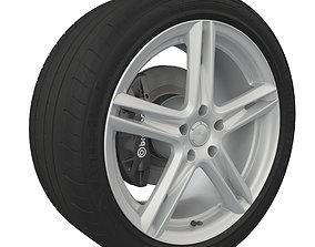 3D Wheel Tire Goodyear Eagle F1