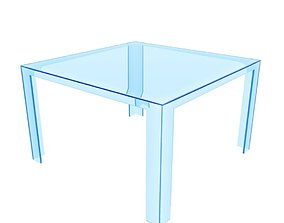 3D asset Kartell Invisible Table