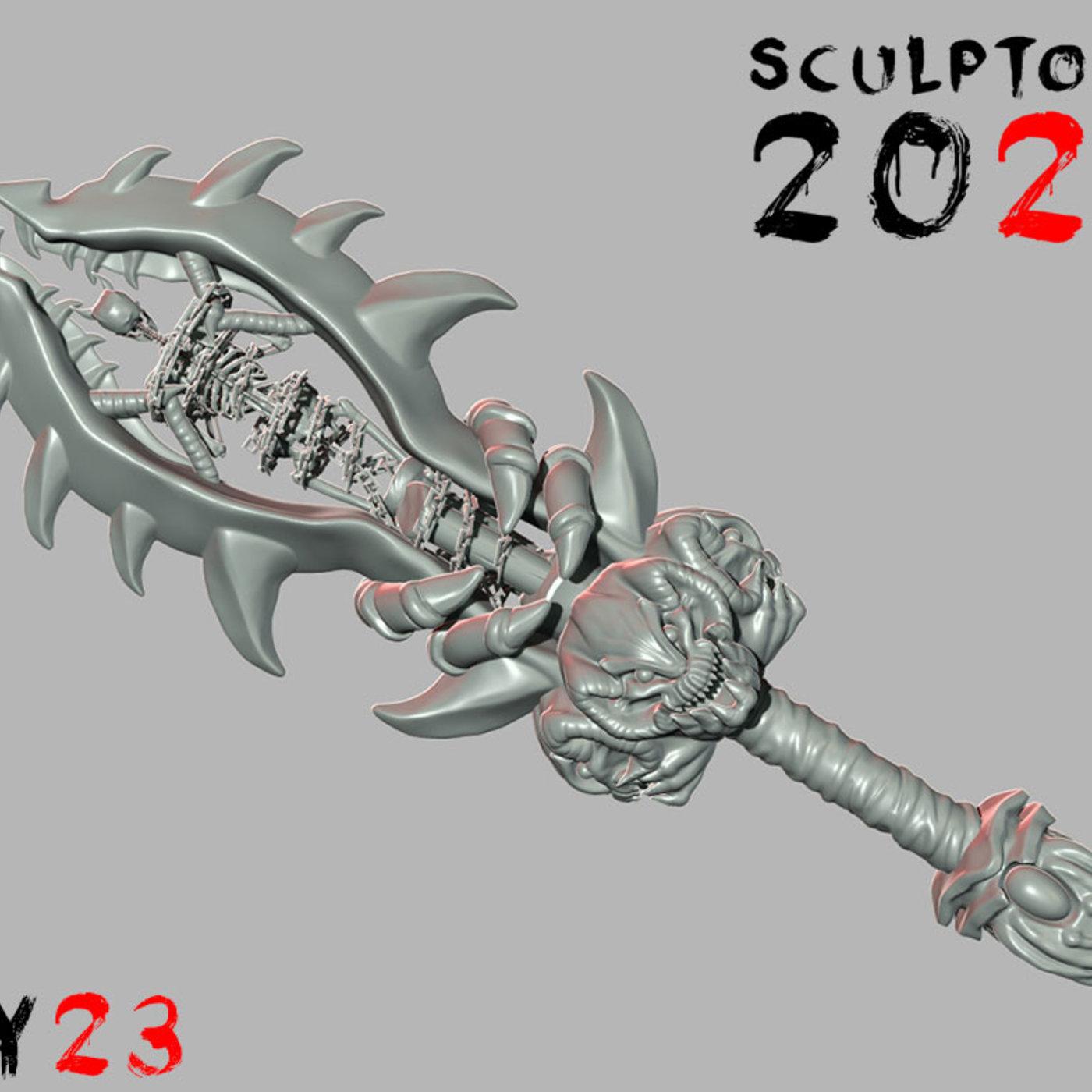 Sculptober Day 23 Enchanted