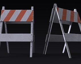 Construction Sign 3D