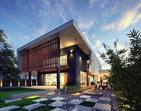Villa Design 3D animated