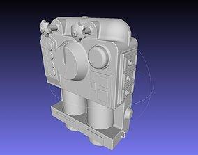 ALIEN Spacesuit Backpack 3D print model