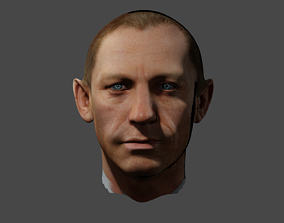 Daniel Craig James Bond 3D model