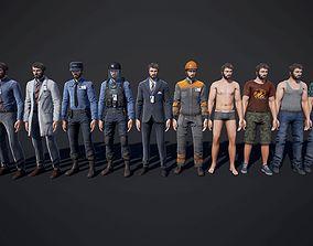 Personnel 3D model