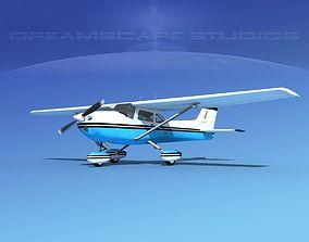 3D model Cessna 172 Skyhawk 1976 V07