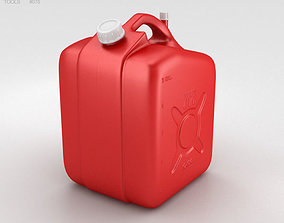 3D 5 Gallon Jerry Can Fuel Tank