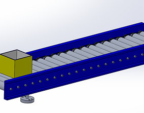 3D animated Conveyor Assembly