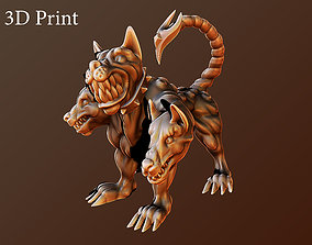 3D print model statue Cerberus