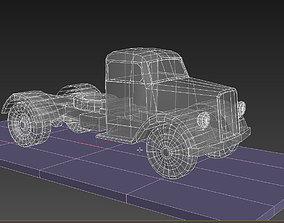 3D asset Opel Blitz
