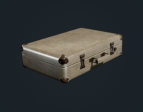 Suitcase Luggage Bag Hotel Travel 3D model