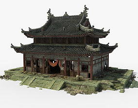 3D temple Chinese Temple