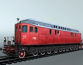 Diesel Locomotive Ge-1 3D model