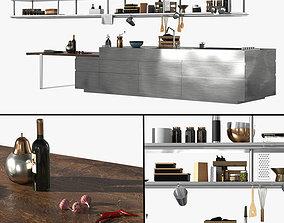 Convivium Arclinea Kitchen 3D