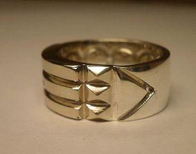 Atlantis Ring 2 part 3D print model band