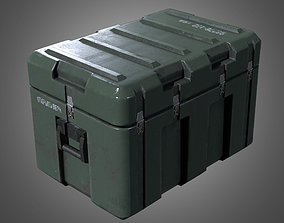 Military Weapons Crate 2 - PBR Game Ready 3D model