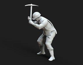 man repair Railway 3D printable model
