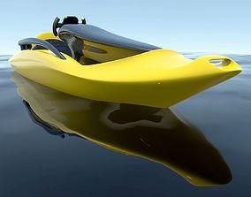 Electrical Kayak - Concept design 3D model