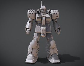 3D print model MP Guncannon