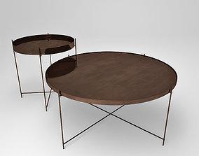 3D Oxon copper table set