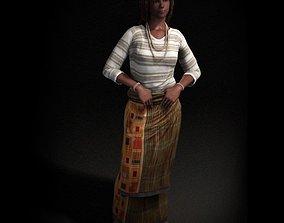 Clothed Female Mannnequin 3D model