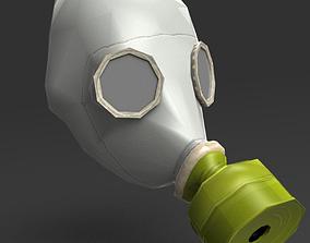 Gas Mask GP-5 3D asset