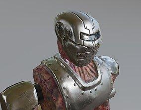 3D asset Cyborg Monster Robot