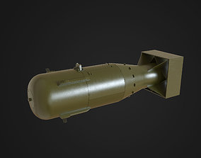 3D asset realtime Little Boy Atomic Bomb