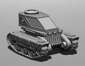 3D printable model All-terrain vehicle for planetary